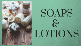 Essential Oils Soaps and Lotions
